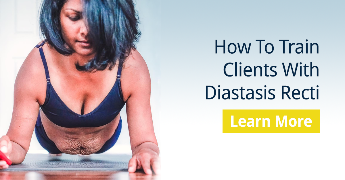 How to Train Clients With Diastasis Recti